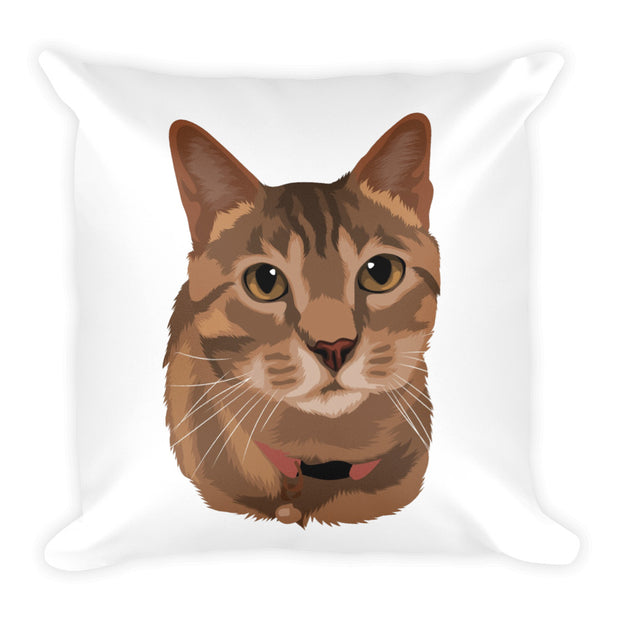 Illustrate my pet on pillow