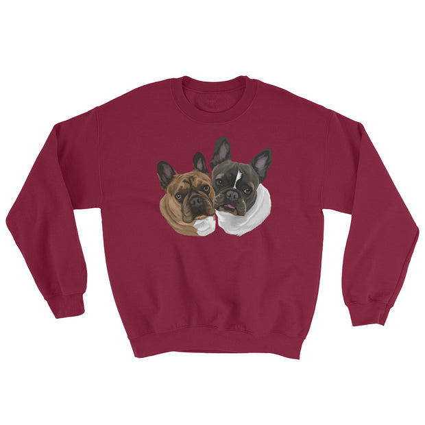 print my pup on sweatshirt