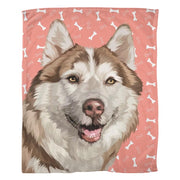 Custom Pet Fleece Blanket