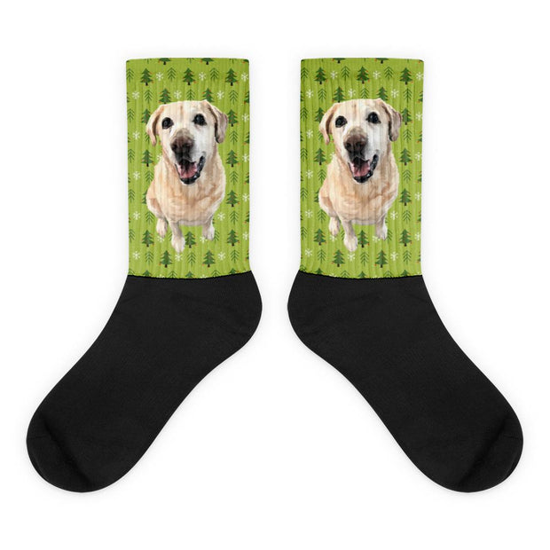 custom printed socks of your puppy