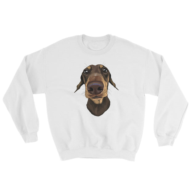 personalized pet photo sweatshirt