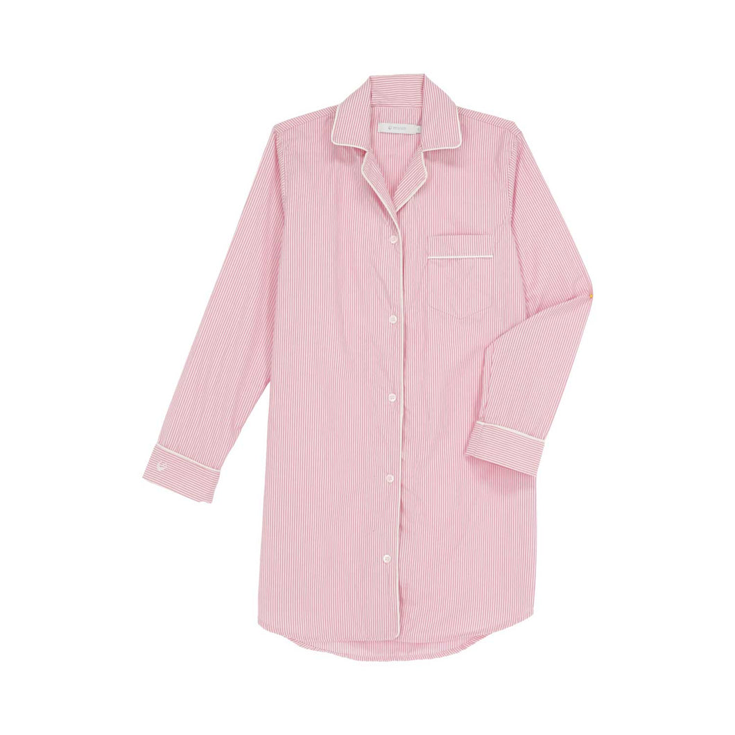 CRETA PINK Stripes Boyfriend Shirt