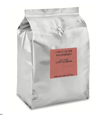 Chocolate Raspberry Whole Bean - 4 lb Case
