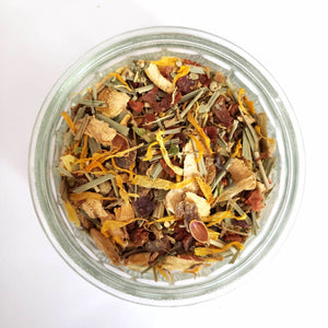 The Remedy: Herbal Lemon Ginger Tea