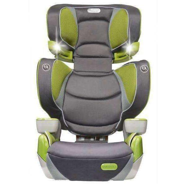 Evenflo Rightfit Booster Car Seat Yoshi Multi Color