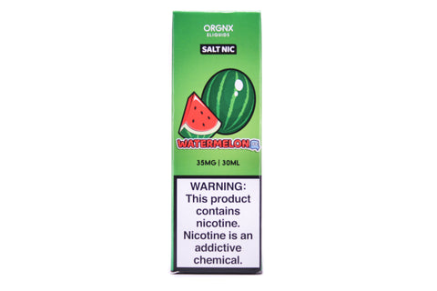 ORGNX Watermelon Iced SALT | 30mL Fresh Watermelon Menthol E-LIQUID