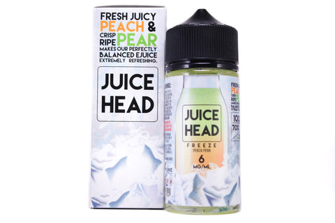Juice Head FREEZE Peach Pear | 100ml Peach Pair Juice Menthol E-Liquid