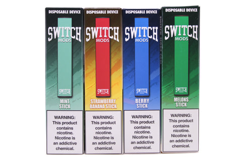 Switch Mods Disposable E-Cigs
