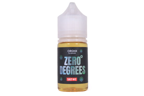 ORGNX Zero Degrees SALT | 30mL Menthol E-LIQUID