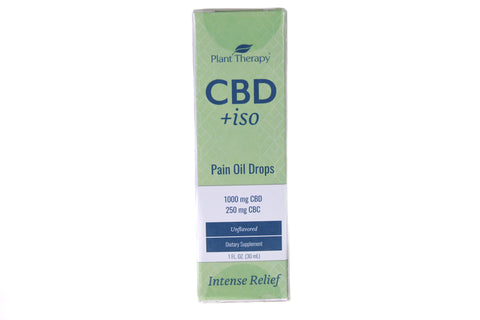 Plant Therapy CBD+iso | Pain Oil drops