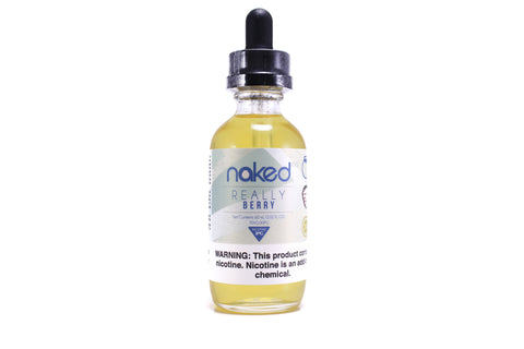 Naked 100 Really Berry | 60mL Blueberry Blackberry Lemon E-Liquid