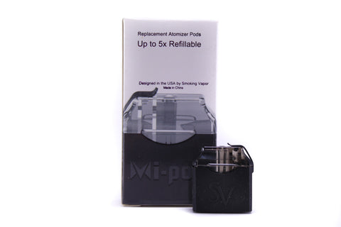 Smoking Vapor | 2-Pack Mi-Pod Replacement Pods