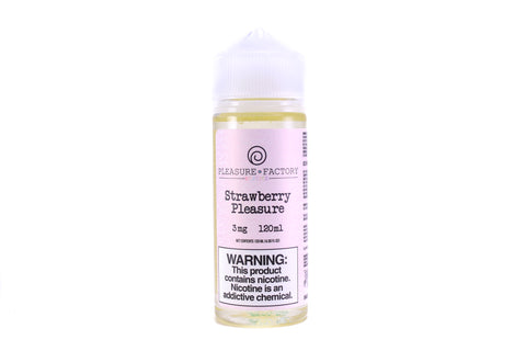 Pleasure Factory Strawberry Pleasure | 120mL Sugar Sprinkled Strawberries E-Juice