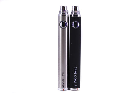 EVOD | Twist 650mAh Variable Voltage Battery Mod