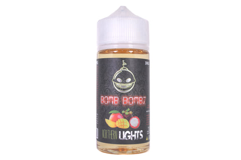 Bomb Bombz Northern Lights | 100ml Mangosteen E-Liquid