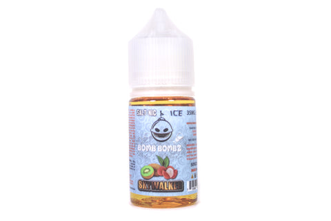 Bomb Bomz ICE Skywalker SALT NIC | 30ml Lychee Kiwi Ice SALT NIC
