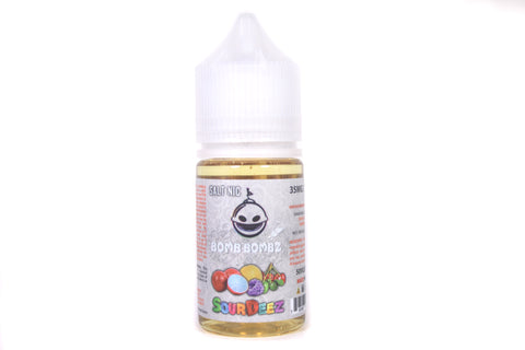 Bomb Bombz Sour Deez SALT NIC | 30ml Cherry Lemon Raspberry Guava SALT E-liquid