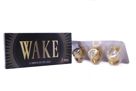 Wake Mod Co. | Wake Take Sub-Ohm Replacement Coils 3-Pack (1.5 ohm)