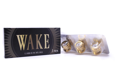 Wake Mod Co. | Wake Take Sub-Ohm Replacement Coils 3-Pack (0.5 ohm)
