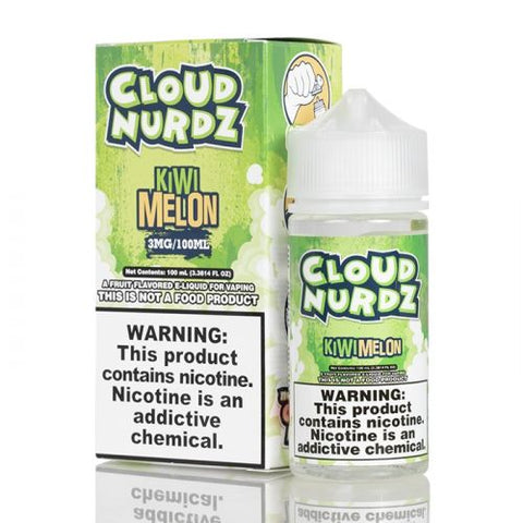 Cloud Nurdz E-Liquid Kiwi Melon | 100ml Kiwi Melon E- Liquid