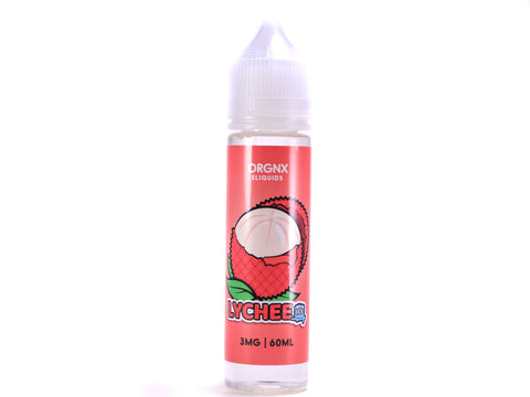 ORGNX Lychee ICED | 60mL Ripe Lychee Menthol E-LIQUID