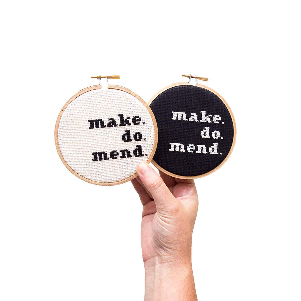 Make. Do. Mend.