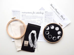 Moon Phases Black Kit