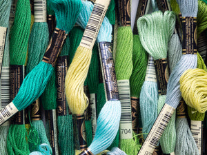 Embroidery Floss - Green