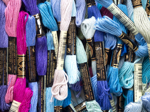 Embroidery Floss - Blue/Purple