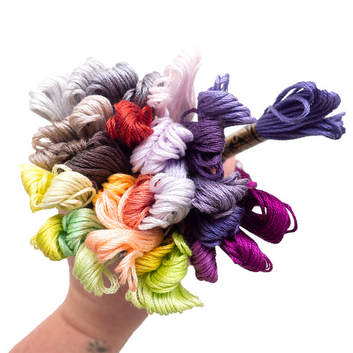 Embroidery Floss - New 35 DMC Colors