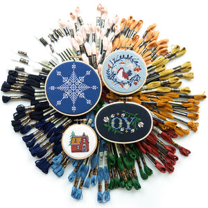 Large Snowflake I Kit