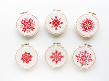 Load image into Gallery viewer, Snowflake Ornament III Kit