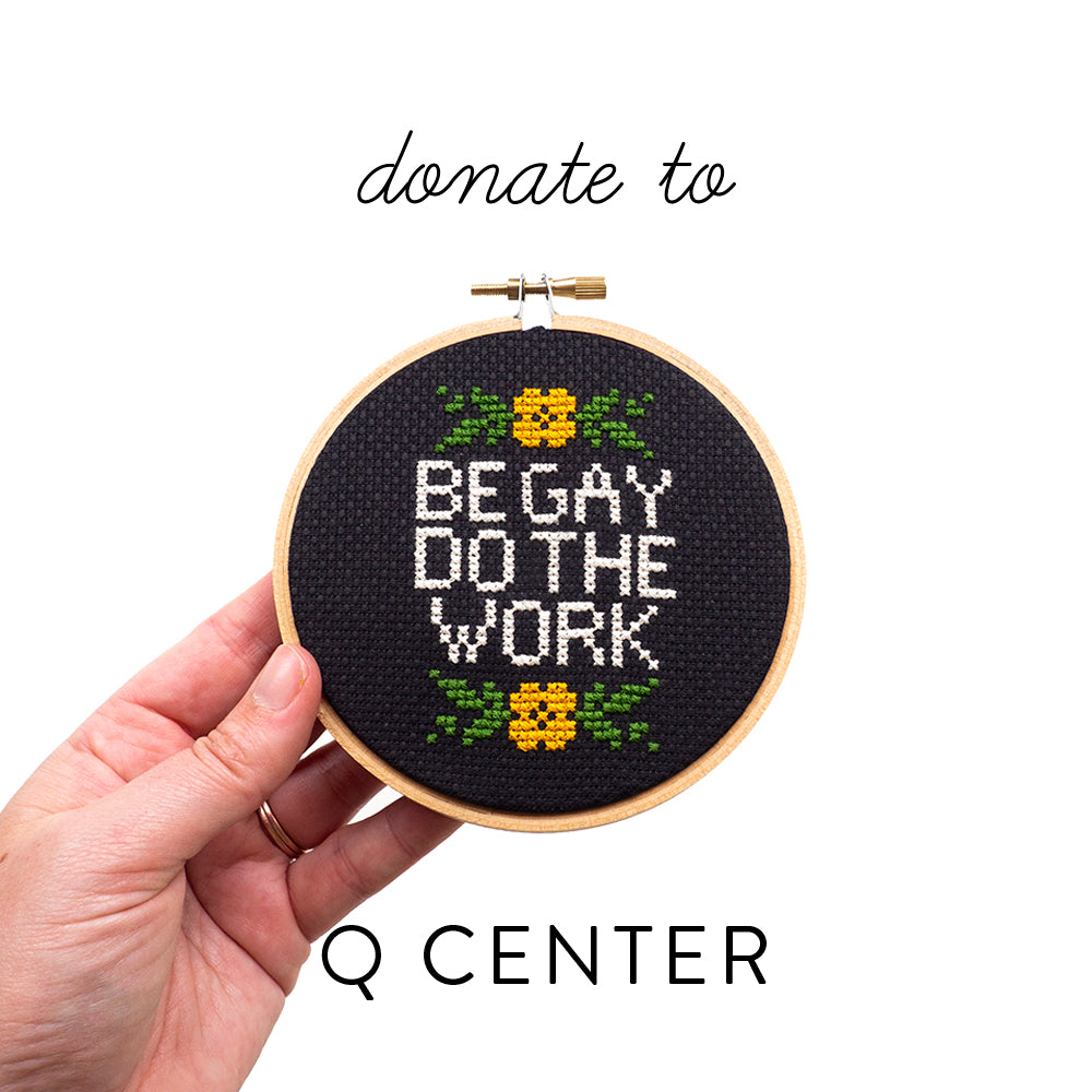 Be Gay Do the Work PDF - Donation to the Q Center