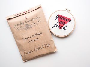 Queer as Fuck Cream Kit
