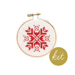 Snowflake Ornament I Kit