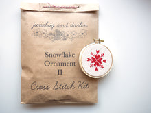 Load image into Gallery viewer, Snowflake Ornament II Kit