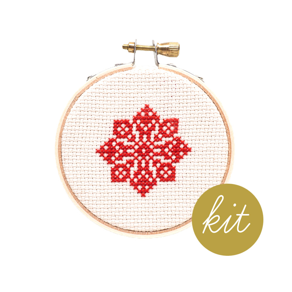 Snowflake Ornament IV Kit
