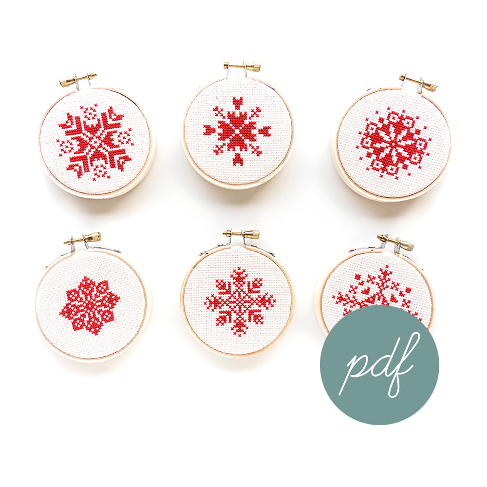 ALL Snowflake Ornament PDFs