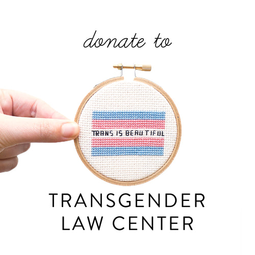 Trans is Beautiful PDF - Donation to Transgender Law Center