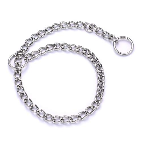 Stainless Dog Training Chain Choke Collar