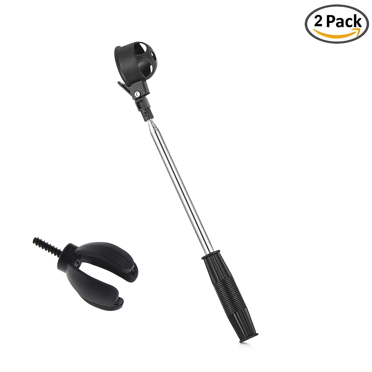 Telescopic golf ball retriever
