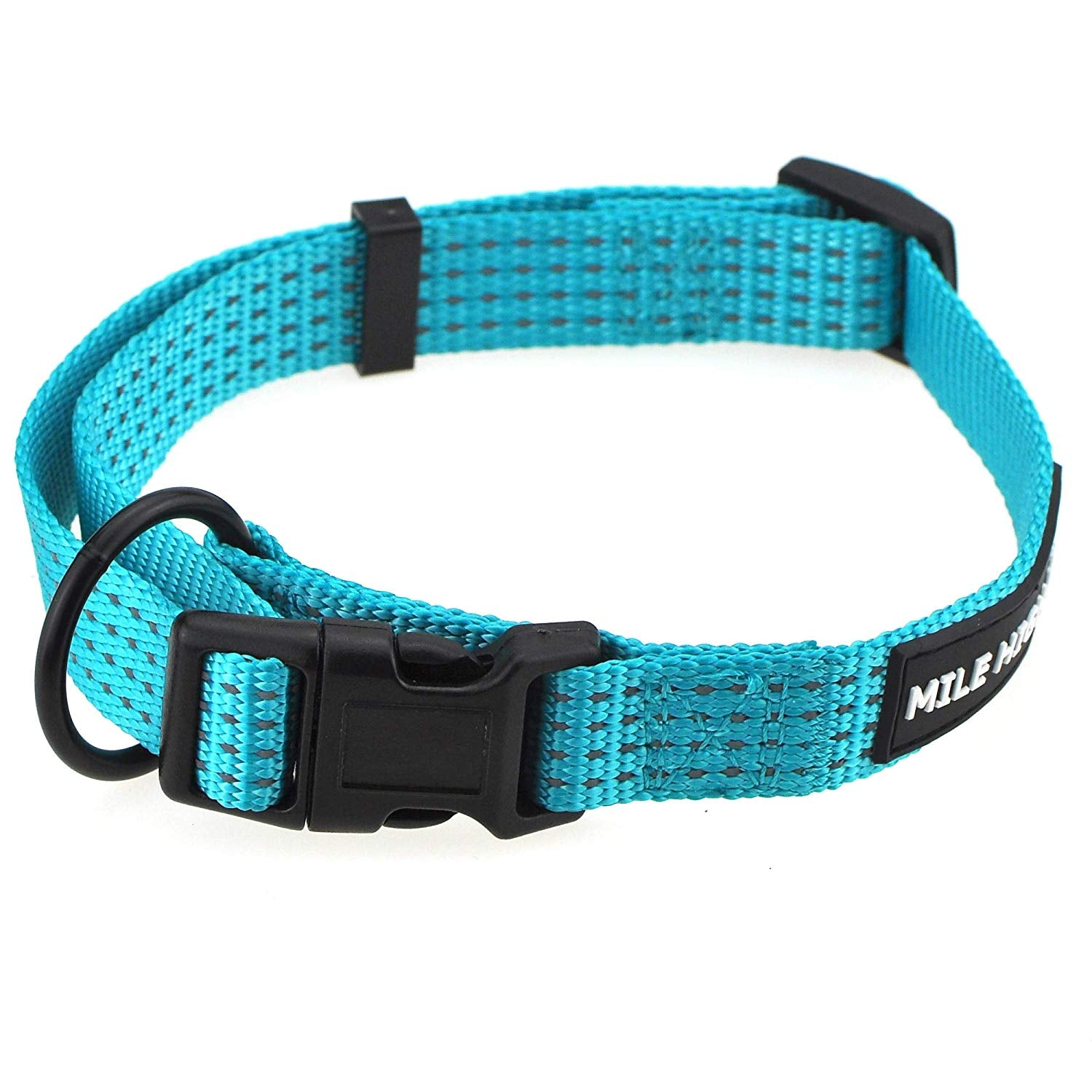 Whole Sale ( 2 Dozen) Night Reflective Four Stripes Dog Collar