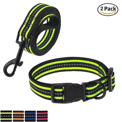 Double Band Dog Collar