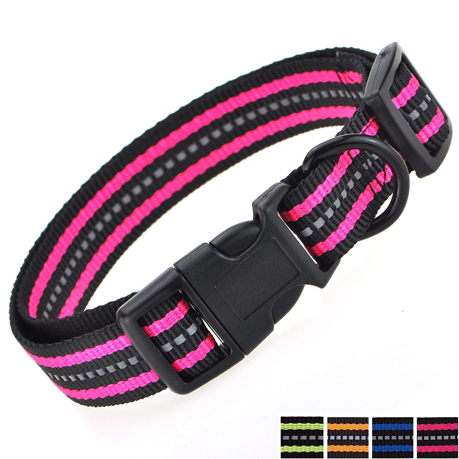 Double Band Nylon Dog Collar