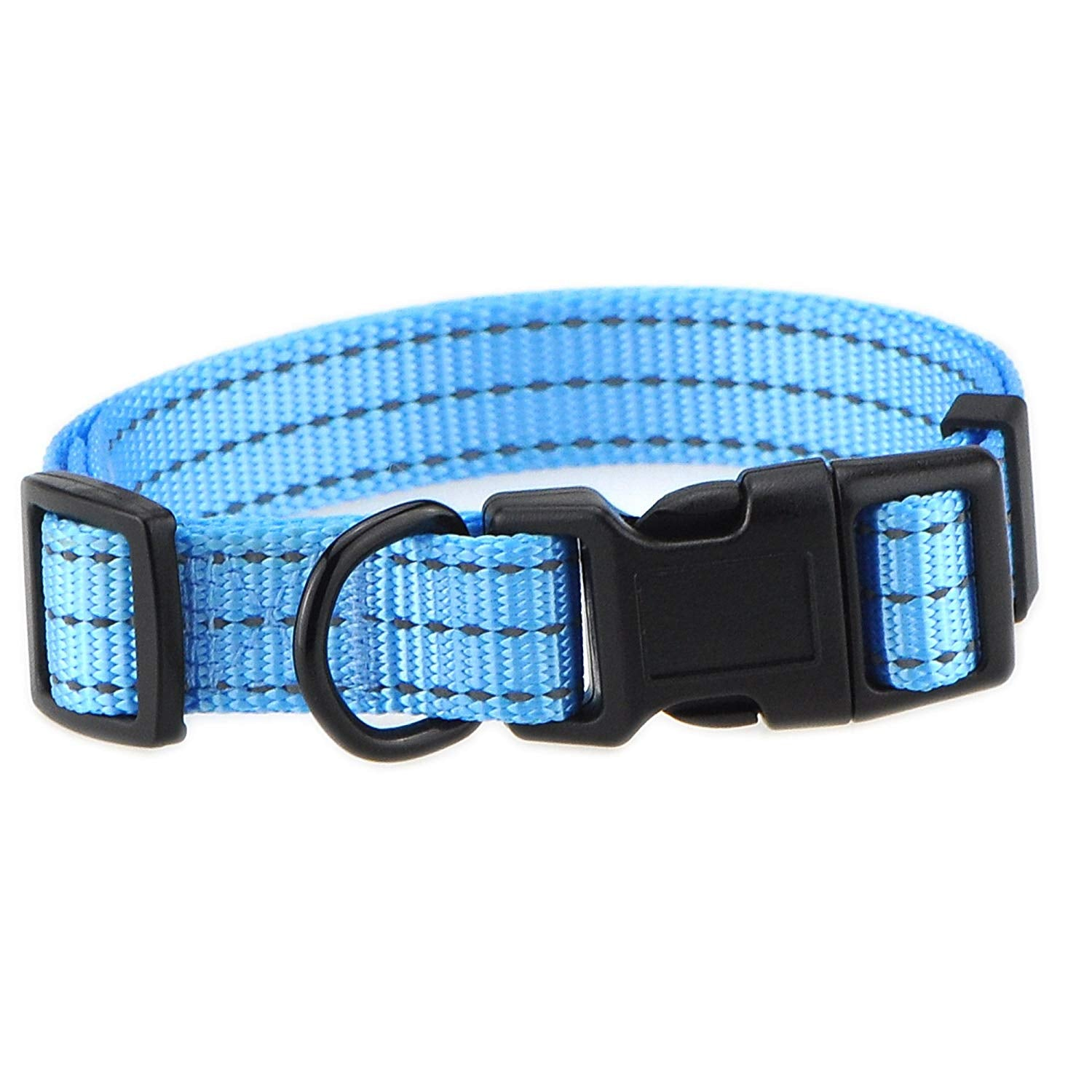 Whole Sale ( 2 Dozen ) Reflective Three Straps Dog Collar