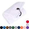Whole Sale ( 100 pc )  Microfiber Waffle Pattern Golf Towel