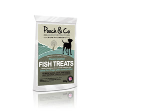 Grain & Cereal Free Steam Cooked Fish Treats
