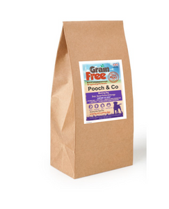 Grain Free Duck & Sweet Potato Meaty, rich in flavour and full of wholesome goodness that your dog will devour.