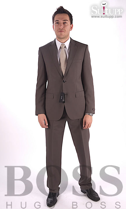 Hugo Boss Black Label – Grey Jam Sharp Suit