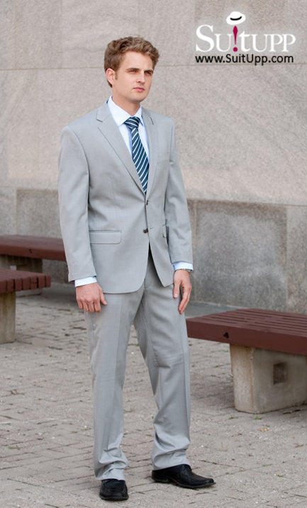 Calvin Klein - Light Grey - Two Piece Suit